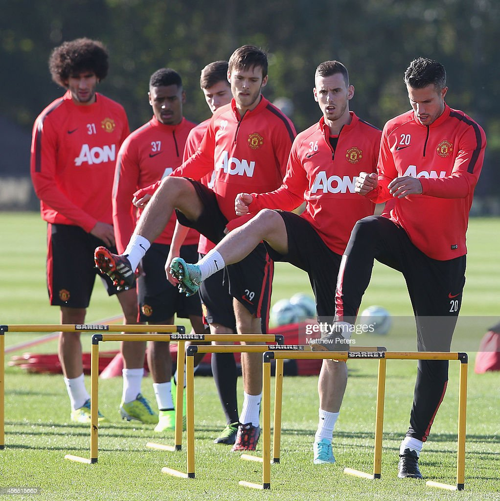 Manchester United Training Session : News Photo