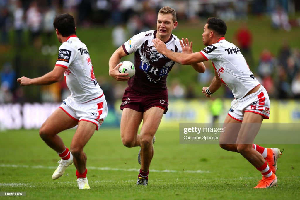 NRL Rd 14 - Sea Eagles v Dragons : News Photo