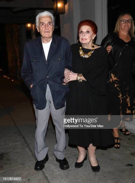 Tom Troupe and Carole Cook are seen on August 6 2018 in Los Angeles CA