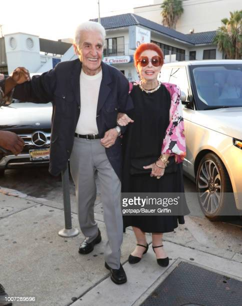 Tom Troupe and Carole Cook are seen on July 28 2018 in Los Angeles California