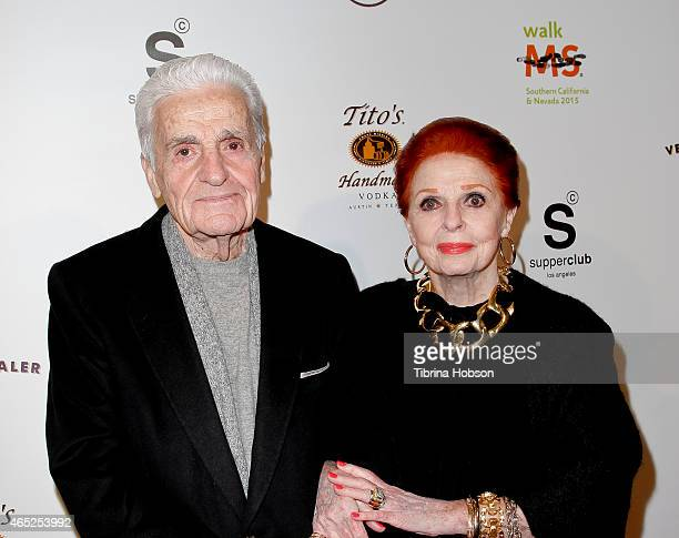 Tom Troupe and Carole Cook attend the annual Los Angeles celebrity walk for Multiple Sclerosis kick off event on March 4 2015 in Los Angeles...