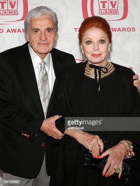 Tom Troupe and Carole Cook during 5th Annual TV Land Awards Arrivals at Barker Hanger in Santa Monica CA United States
