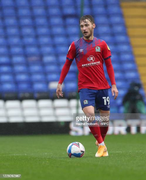 Tom Trybull of Blackburn Rovers during the Sky Bet Championship match between Coventry City and Blackburn Rovers at St Andrew's Trillion Trophy...