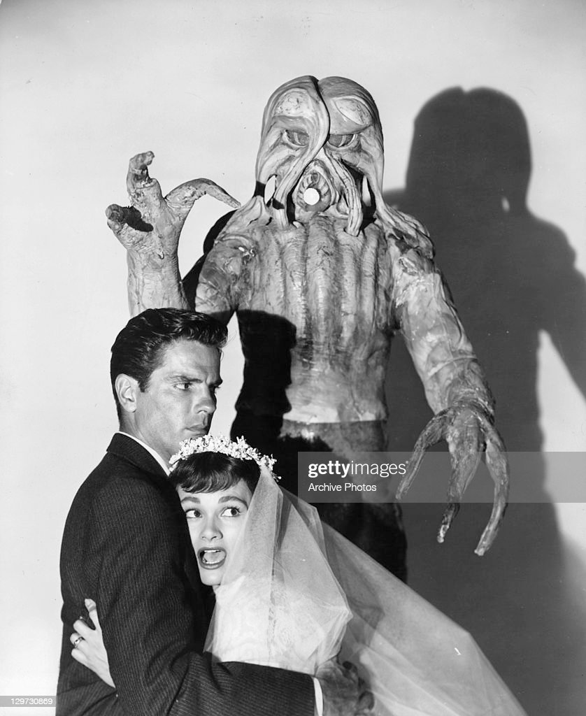 """Tom Tryon And Gloria Talbott In """"I Married A Monster From Outer Space"""" : News Photo"""