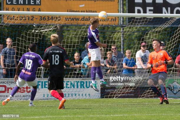 Tom van Weert of FC Groningen during the Club Friendly match between vv 't Fean '58 v FC Groningen at the Sportpark It Ketting on July 7 2018 in...