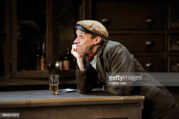 Tom VaughanLawlor as The Covey in Seán O'Casey's The Plough and the Stars directed by Howard Davies and Jeremy Herrin at The National Theatre on July...