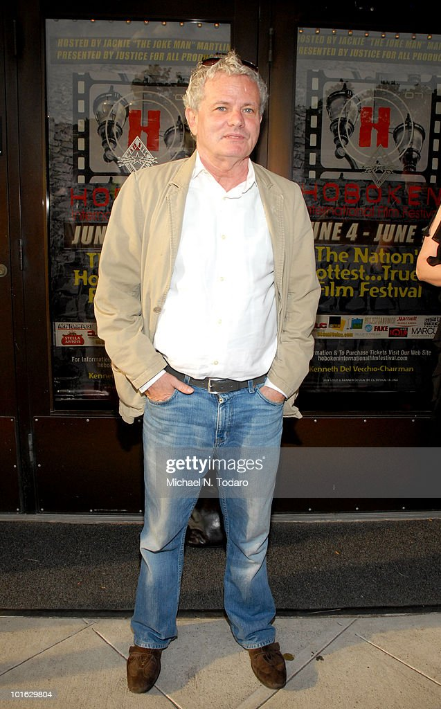 Tom Waites attends the premiere of 'An Affirmative Act' at Cedar Lane Cinemas on June 4, 2010 in Teaneck, New Jersey.