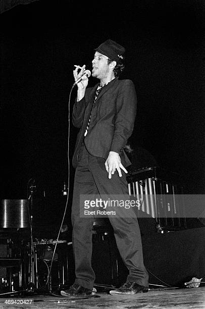 Tom Waits at the Beacon Theater in New York City on October 15 1977