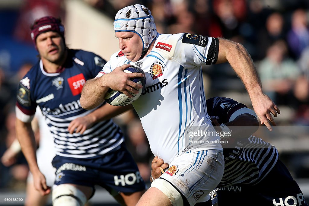 Bordeaux-Begles v Exeter Chiefs - European Rugby Champions Cup : News Photo