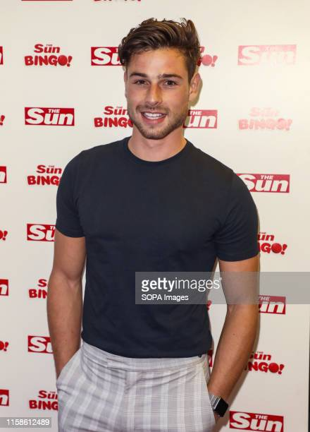 Tom Walker attending The Sun's Love Island Finale Party at the Tropicana Beach Club in London