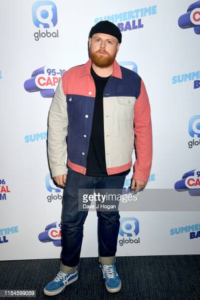 Tom Walker attends the Capital FM Summertime Ball at Wembley Stadium on June 08, 2019 in London, England.