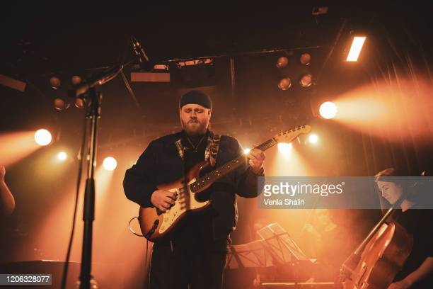 Tom Walker performs at the Omeara London on February 14 2020 in London England