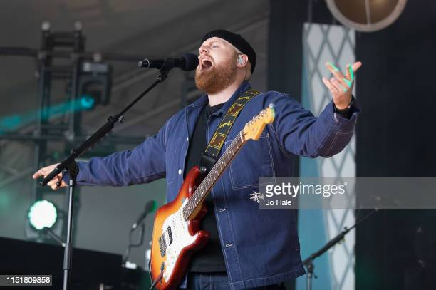 Tom Walker performs at the Radio 1 Big Weekend at Stewart Park on May 26 2019 in Middlesbrough England