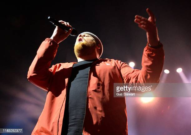 Tom Walker performs on stage at O2 Academy Brixton on October 24 2019 in London United Kingdom