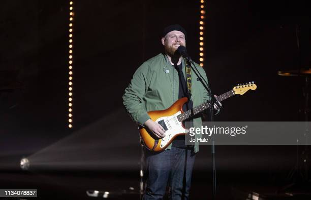 Tom Walker performs onstage at We Day UK at SSE Arena Wembley on March 06 2019 in London England