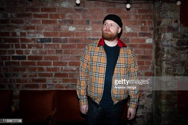 Tom Walker poses at The Wardrobe on March 04 2019 in Leeds England