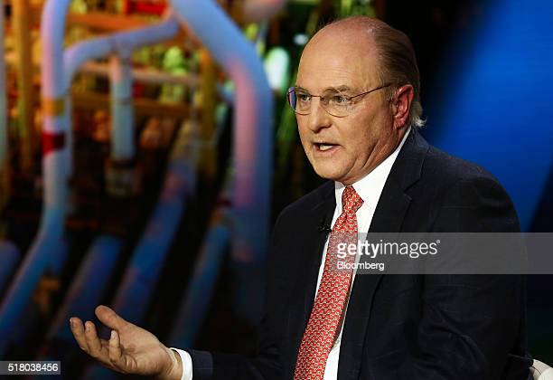 Tom Ward, chief executive officer of Tapstone Energy LLC, speaks during a Bloomberg Television interview in New York, U.S., on Tuesday, March 29,...