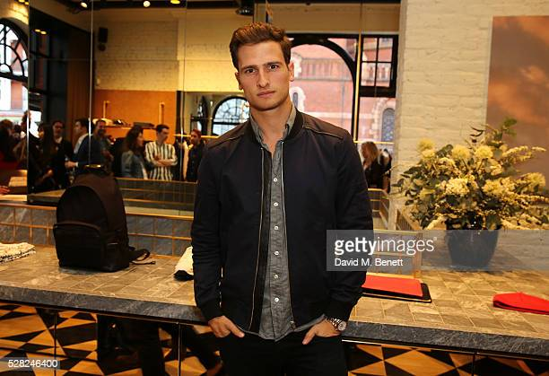 Tom Warren attends Ami Mayfair Store Opening on May 4 2016 in London England