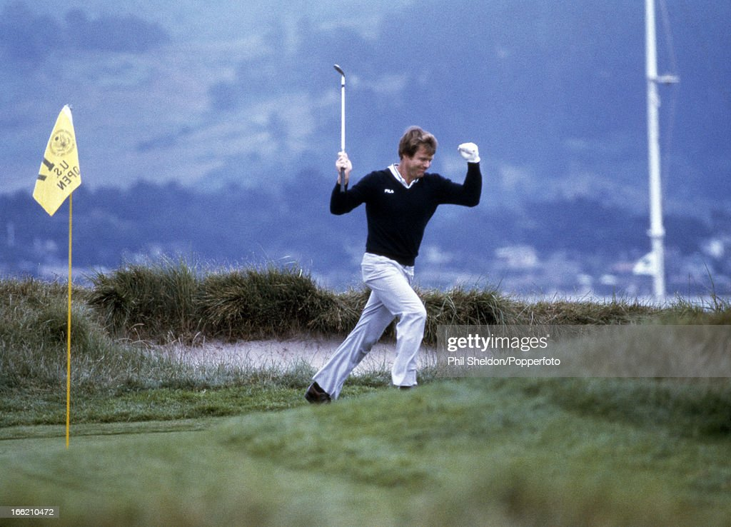Tom Watson During The US Open Golf Championship : News Photo