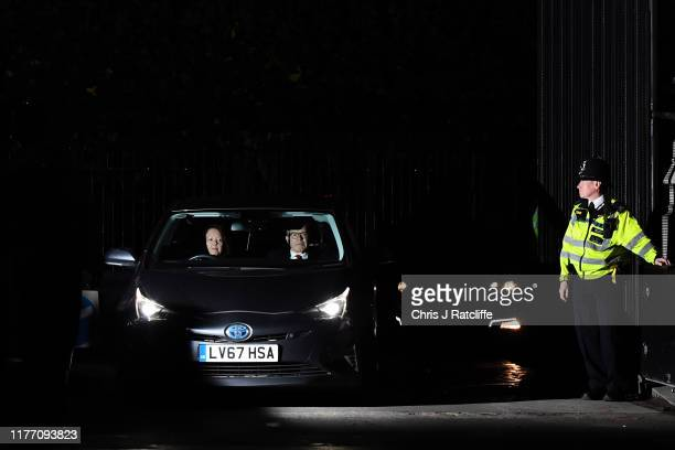Tom Watson the Deputy Leader of the Labour Party leaves the Houses of Parliament on September 25 2019 in London England Yesterday the Supreme Court...