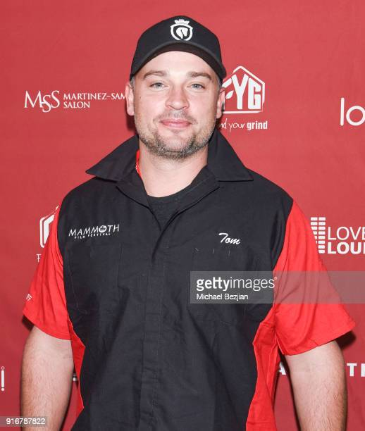 Tom Welling arrives at The Inaugural Mammoth Film Festival on February 10 2018 in Mammoth Lakes California