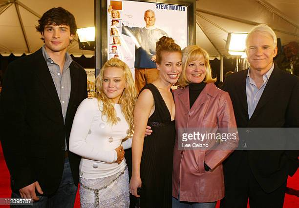 Tom Welling Hilary Duff director Shawn Levy Piper Perabo Bonnie Hunt and Steve Martin
