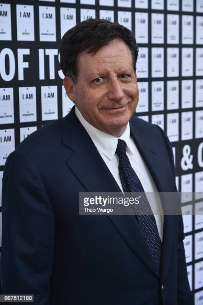 Tom Werner attends 'In Of Itself' Opening Night Arrivals at Daryl Roth Theatre on April 12 2017 in New York City