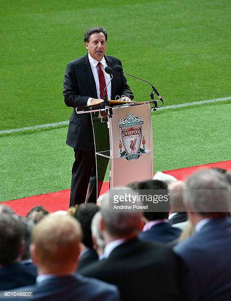 Tom Werner Chairman of Liverpool at the opening event at Anfield on September 9 2016 in Liverpool England