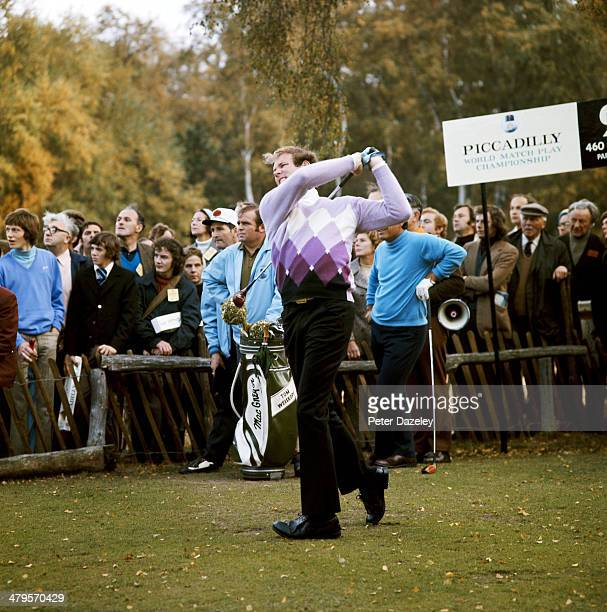 Tom Wesikopf of the USA during the Piccadilly World Match Play Championship played on the West Course 'Burma Road' at Wentworth on September 7, 1972...