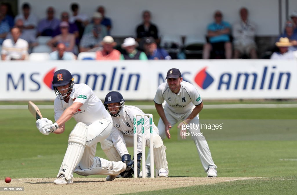 Tom Westley during the Essex v Warwickshire - Specsavers County Championship: Division One cricket match at the Cloudfm County Ground on JUNE 19, 2017 in Chelmsford, England.