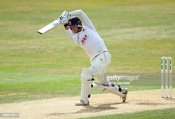 Tom Westley of Essex bats during day two of the Specsavers County Championship Division Two match between Essex and Worcestershire at the Ford County...
