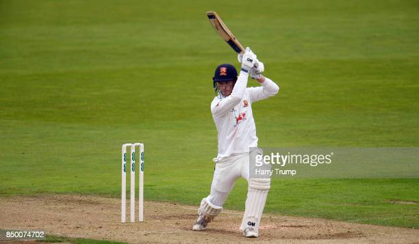 Tom Westley of Essex bats during Day Two of the Specsavers County Championship Division One match between Hampshire and Essex at the Ageas Bowl on...