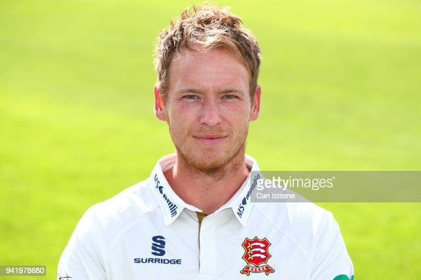 Tom Westley of Essex County Cricket Club poses in the club's Championship kit during the Essex CCC Photocall at Cloudfm County Ground on April 4 2018...