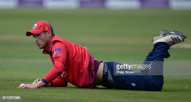 Tom Westley of Essex Eagles on the ground during the Royal London OneDay Cup match between Essex Eagles and Yorkshire Vikings at the Cloudfm County...