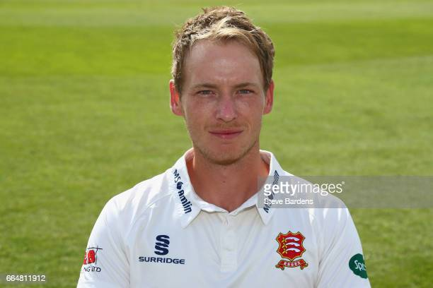 Tom Westley poses in the Specsavers County Championship kit during the Essex CCC photocall at Cloudfm County Ground on April 5 2017 in Chelmsford...