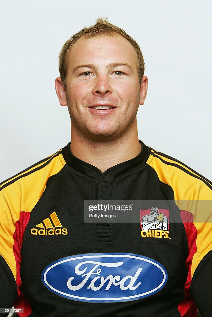 Tom Willis of the Waikato Chiefs poses during a team portrait session December 12, 2005 in Hamilton, New Zealand.