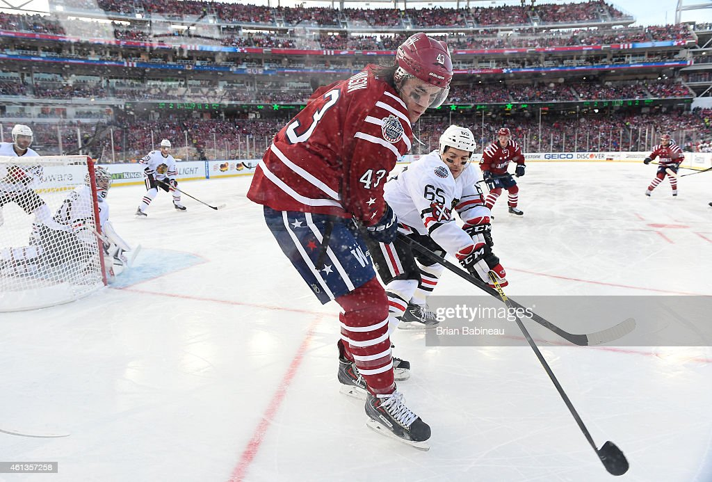 436c5805b Tom Wilson of the Washington Capitals and Andrew Shaw of the Chicago ...