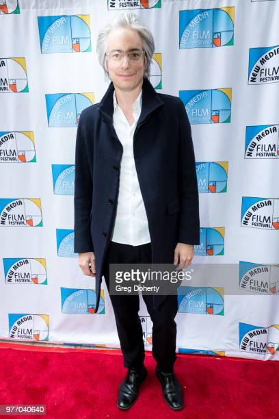 Tom Wiscomb attends the 9th Annual New Media Film Festival at James Bridges Theater on June 16 2018 in Los Angeles California