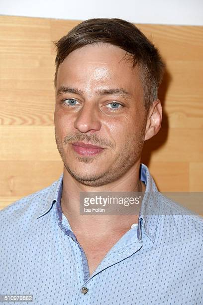 Tom Wlaschiha attends the PantaFlix Party on February 17 2016 in Berlin Germany