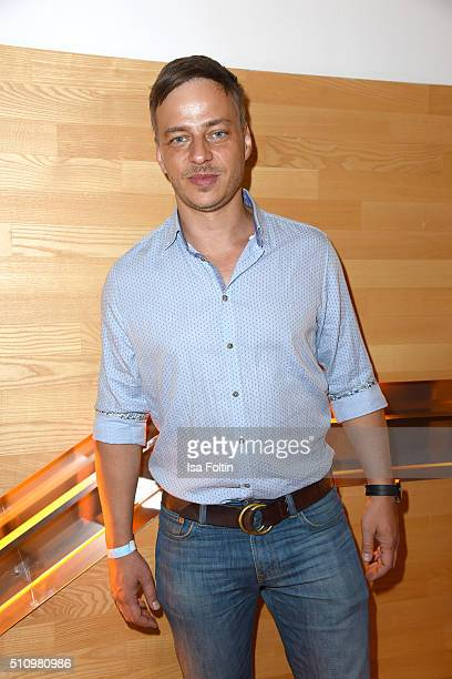 Tom Wlaschiha attends the PantaFlix Party on February 17, 2016 in Berlin, Germany.