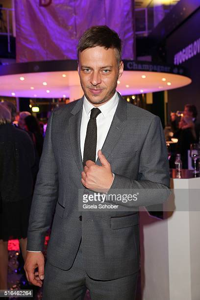 Tom Wlaschiha during the 'Vogue loves Breuninger' fashion event on March 18 2016 in Stuttgart Germany