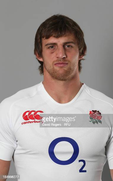 Tom Wood of England poses for a portrait at St Georges Park on October 29, 2012 in Burton-upon-Trent, England.