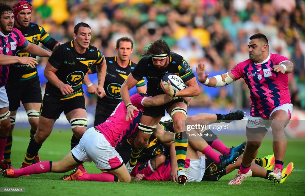 Northampton Saints v Stade Francais - Champions Cup Playoff Final
