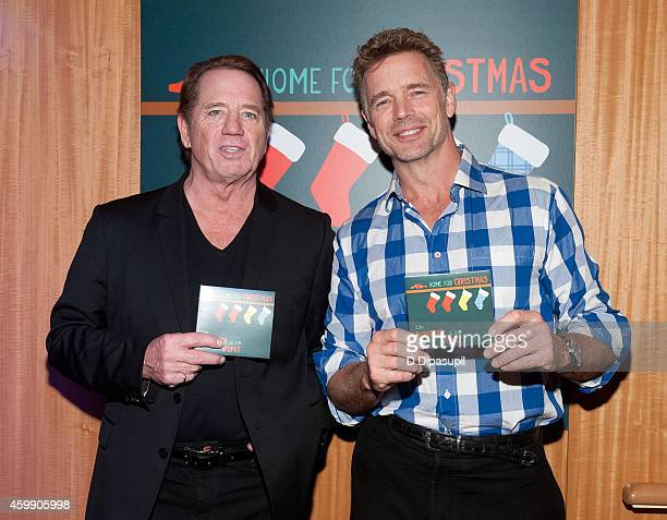 Tom Wopat and John Schneider promote their CD 'Home For Christmas' at Barnes Noble 86th Lexington on December 3 2014 in New York City