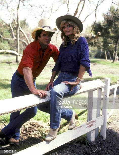 Tom Wopat and Randi Brooks during Tom Wopat and Randi Brooks Portrait Session April 16 1983 at Crestwood Hills Park in Los Angeles California United...