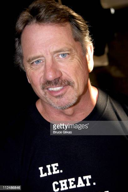 Tom Wopat during 'Glengarry Glen Ross' Meet the Cast Event March 15 2005 at Manhattan Theater Club Rehearsal Studios in New York City New York United...