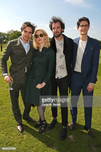 Tom York Freya Mavor and guests attend the Audi Polo Challenge at Coworth Park on May 7 2017 in Ascot United Kingdom