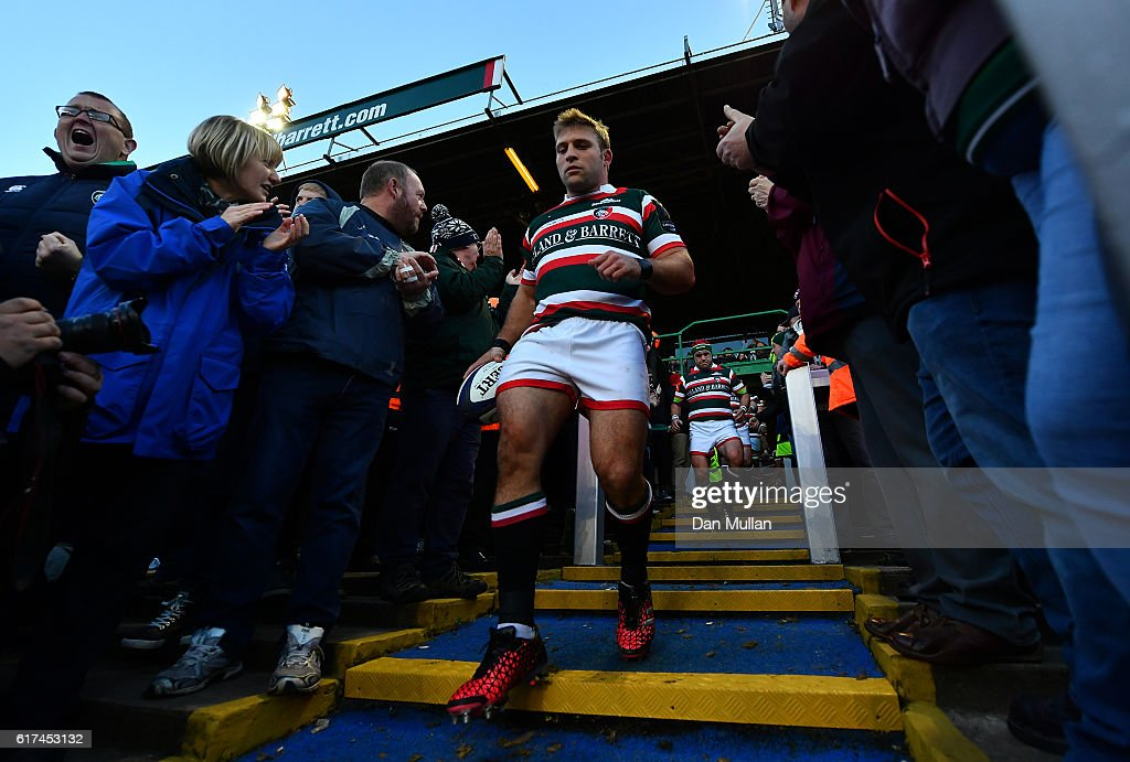 Leicester Tigers v Racing 92 - European Rugby Champions Cup : News Photo