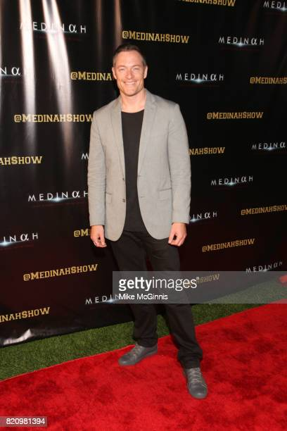 Tomah Penikett attends the International SciFi Series 'Medinah' premiere and red carpet reception at ComicCon International 2017 at The Manchester...