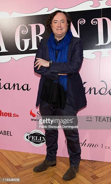 Tomas Alia attends 'La Gran Depresion' premiere at Infanta Isabel Theatre on May 19 2011 in Madrid Spain